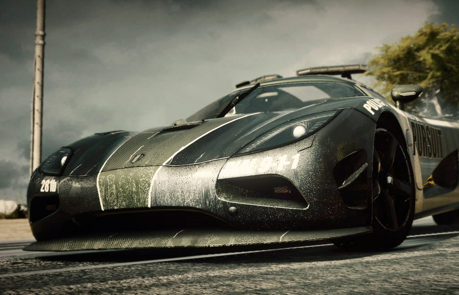 Need For Speed Rivals - KOENIGSEGG COP CAR