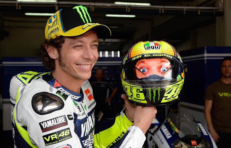 Sepang day2 - Rossi