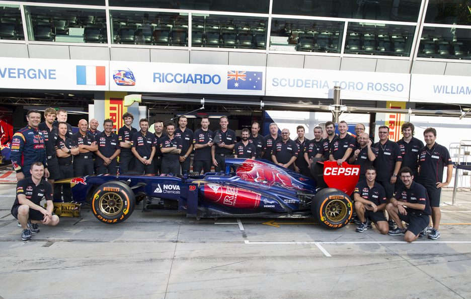 Stage Toro Rosso 3