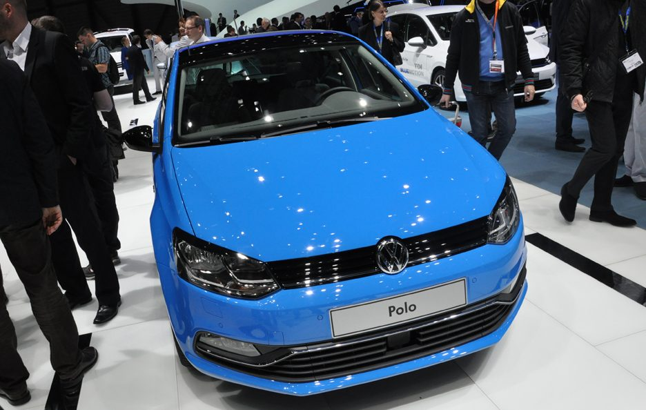 Volkswagen Polo restyling frontale - Ginevra 2014