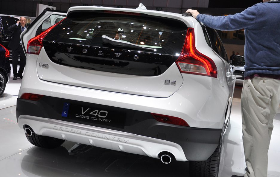 Volvo V40 Cross Country Ocean Race Edition portellone - Ginevra 2014