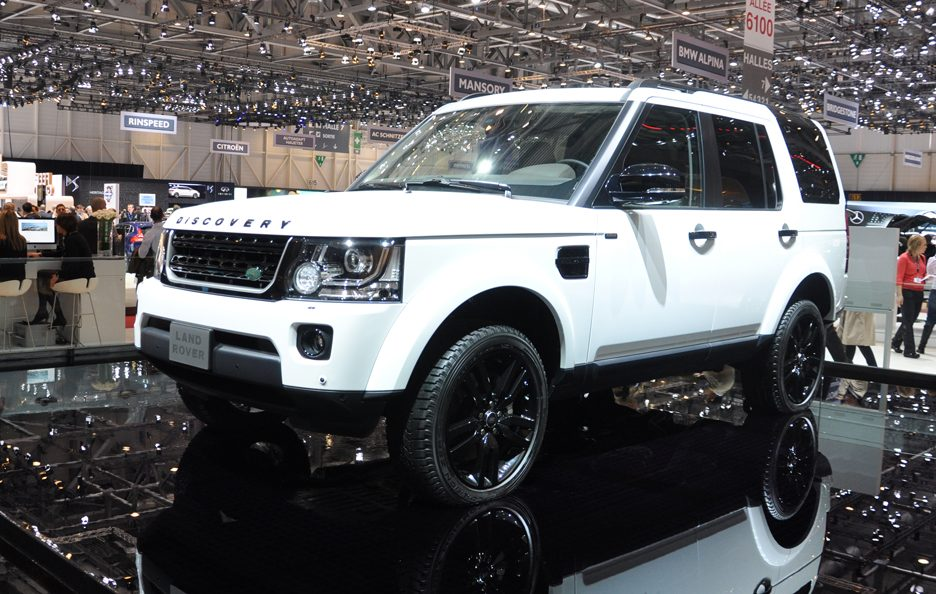 Land Rover Discovery 5 - Ginevra 2014
