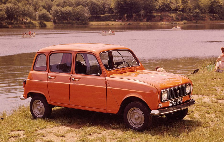 1974 - Renault 4 secondo restyling