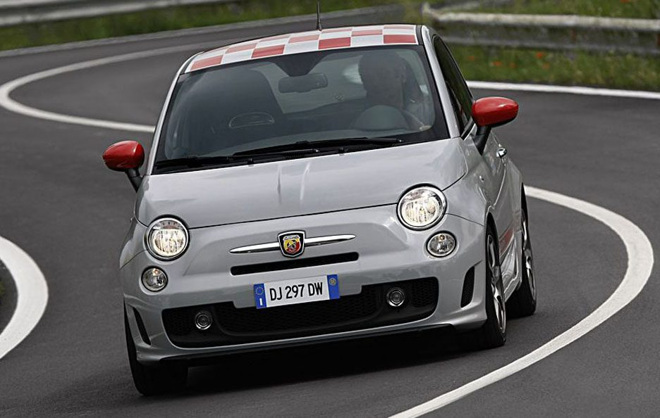 Abarth 500 frontale