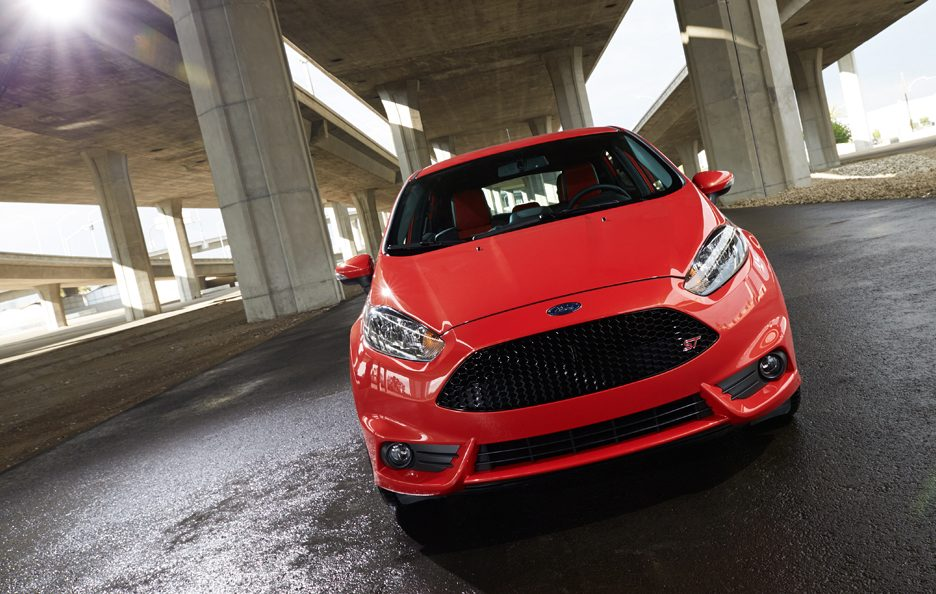 Ford Fiesta ST - Il frontale