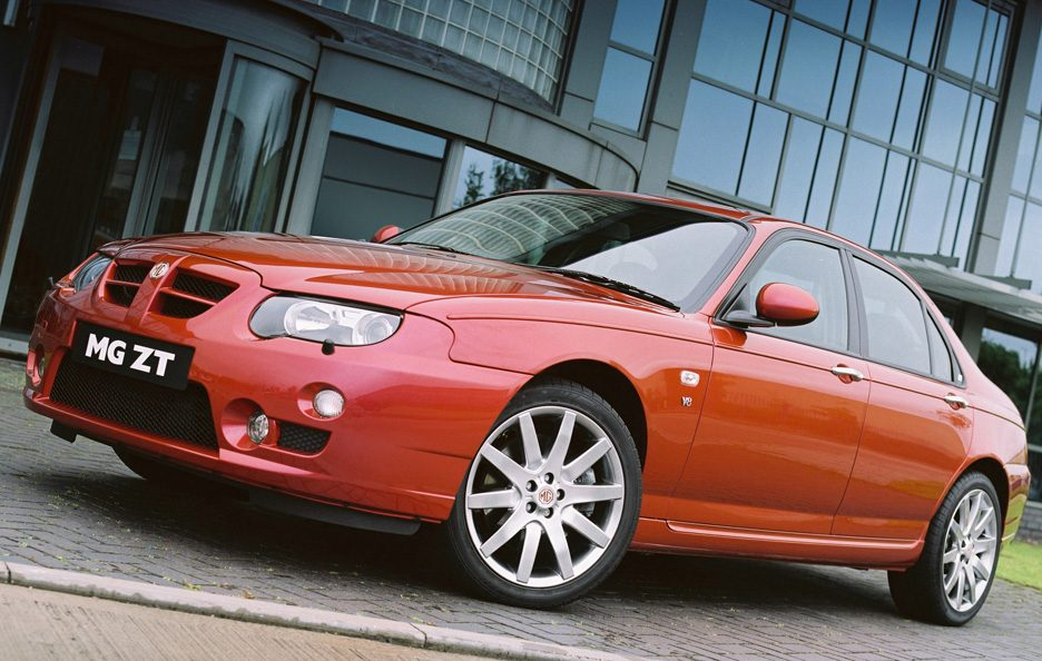 MG ZT restyling
