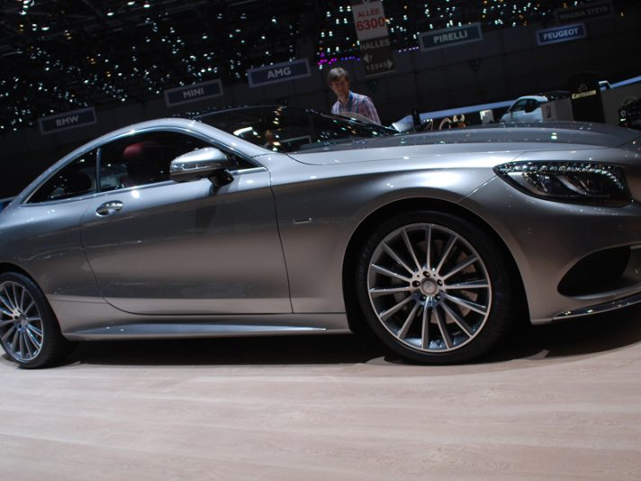 Mercedes classe S Coupé - Ginevra 2014
