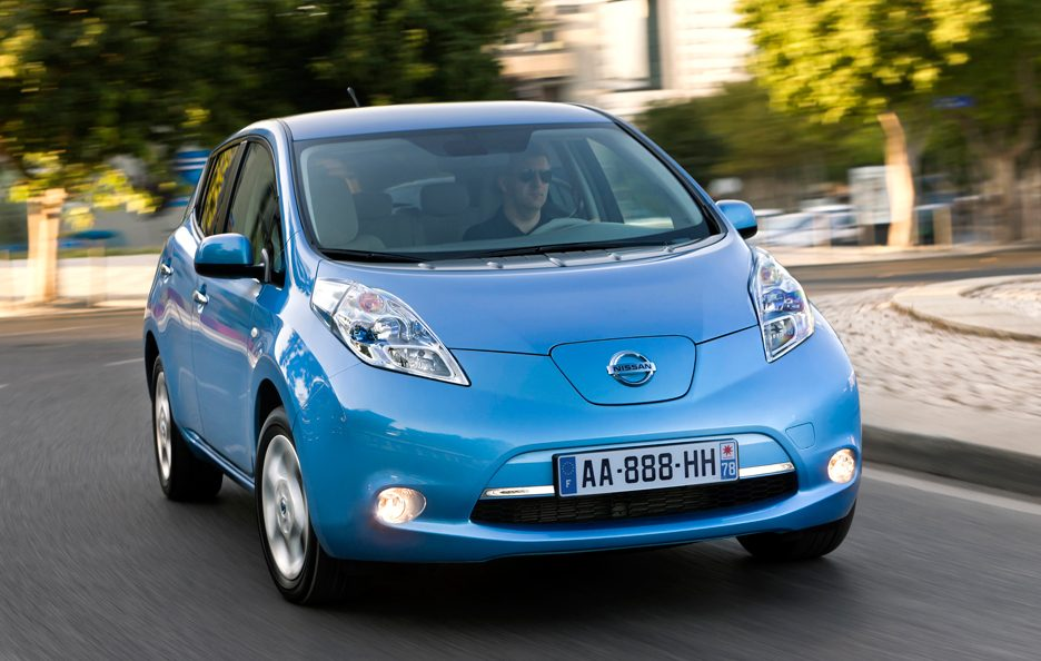 Nissan Leaf - Frontale