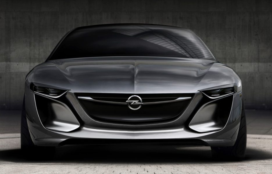 Opel Monza Concept - Frontale