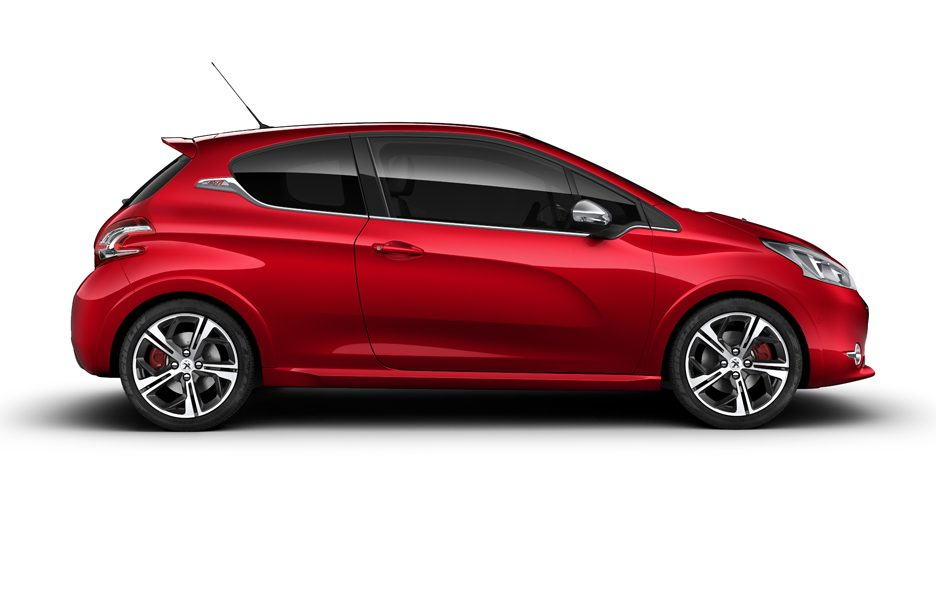 Peugeot 208 GTi 2013 - Laterale
