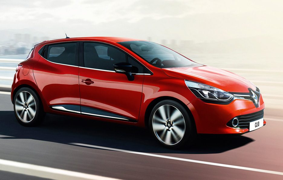 Renault Clio 2012 - Laterale in motion