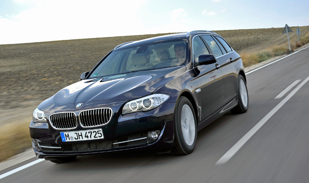 BMW 525d - Frontale