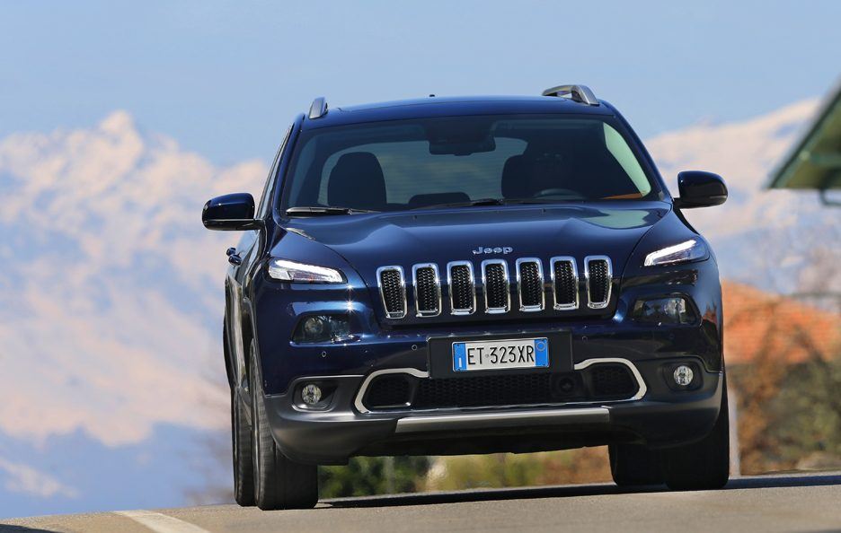 Jeep Cherokee frontale