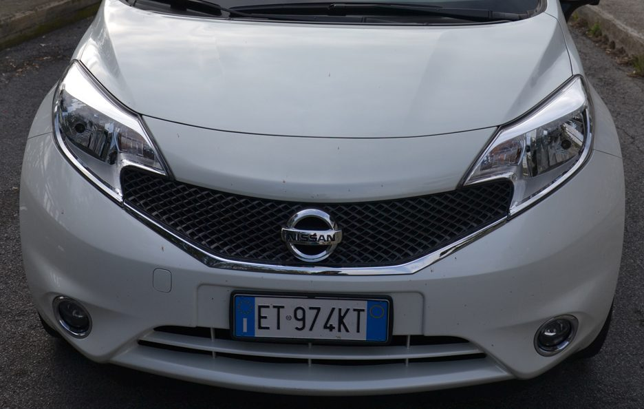 Nissan Note frontale 2