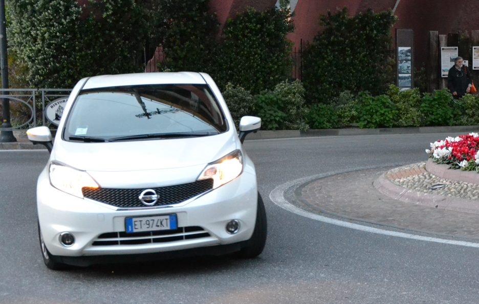 Nissan Note frontale 3