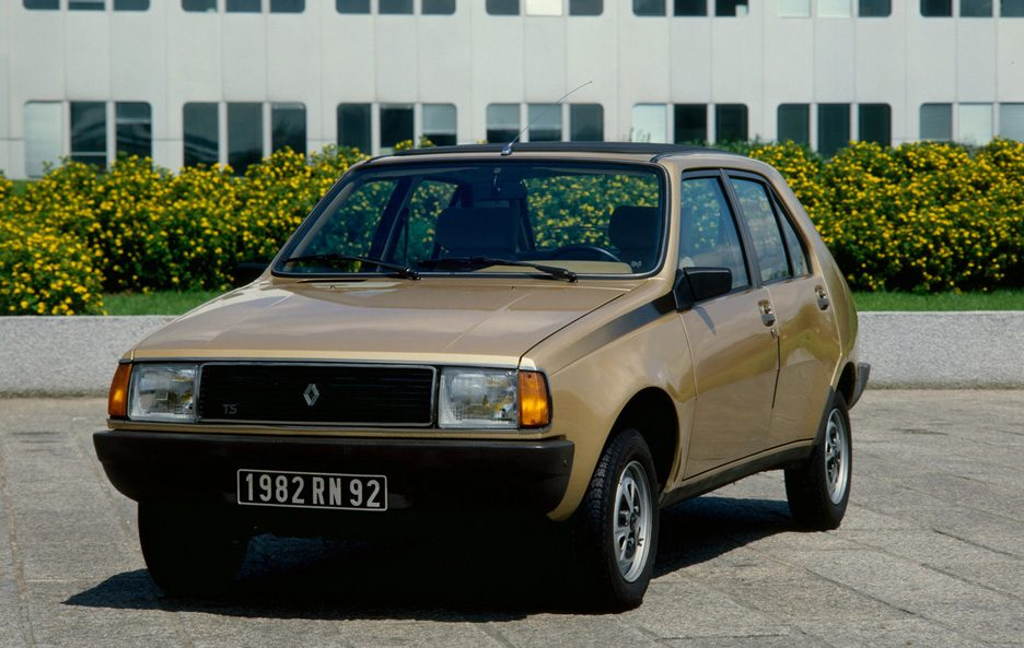 Renault 14 restyling