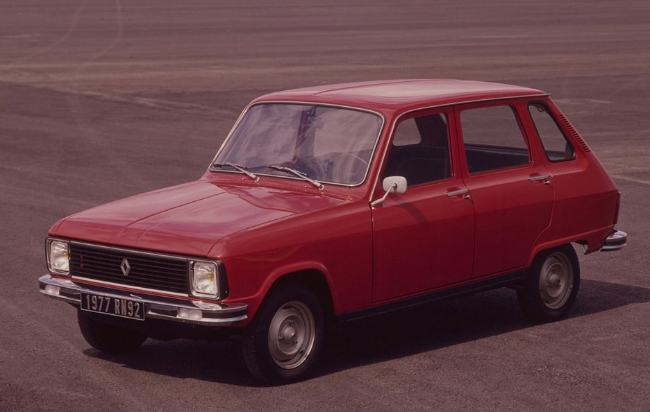 Renault 6 restyling