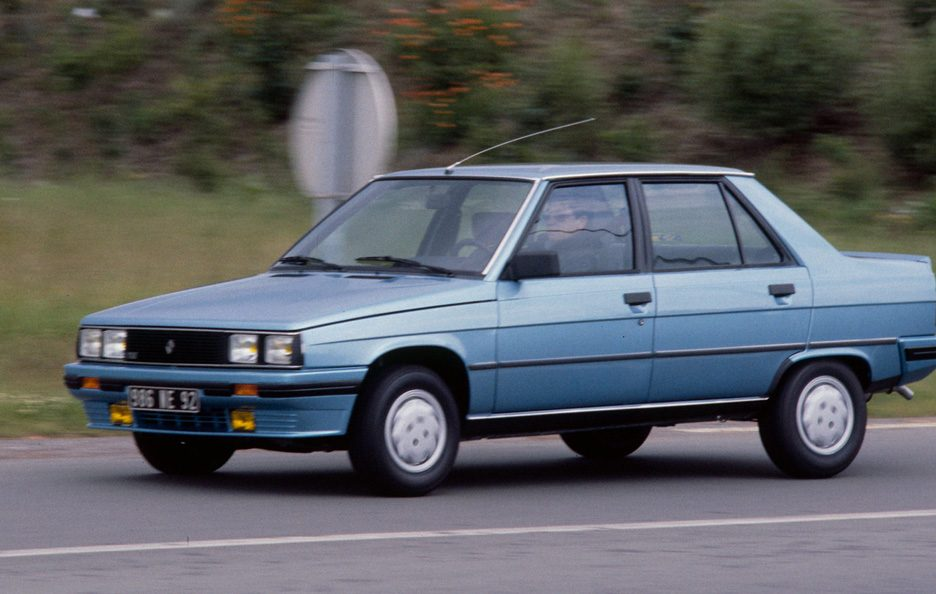 Renault 9 restyling