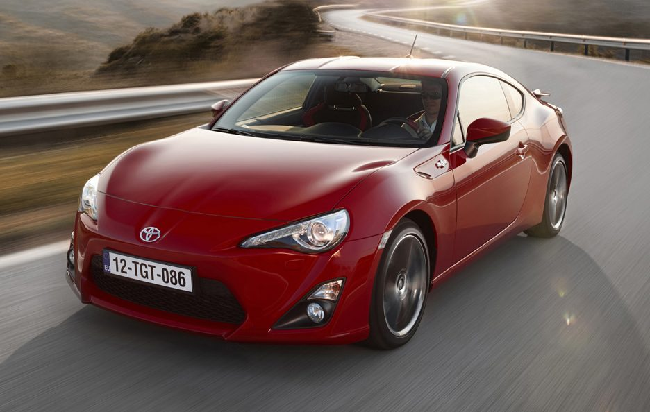 Toyota GT86 - Frontale alto