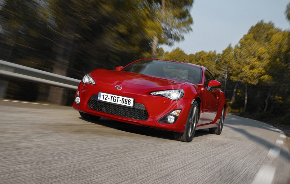 Toyota GT86 - Frontale in motion