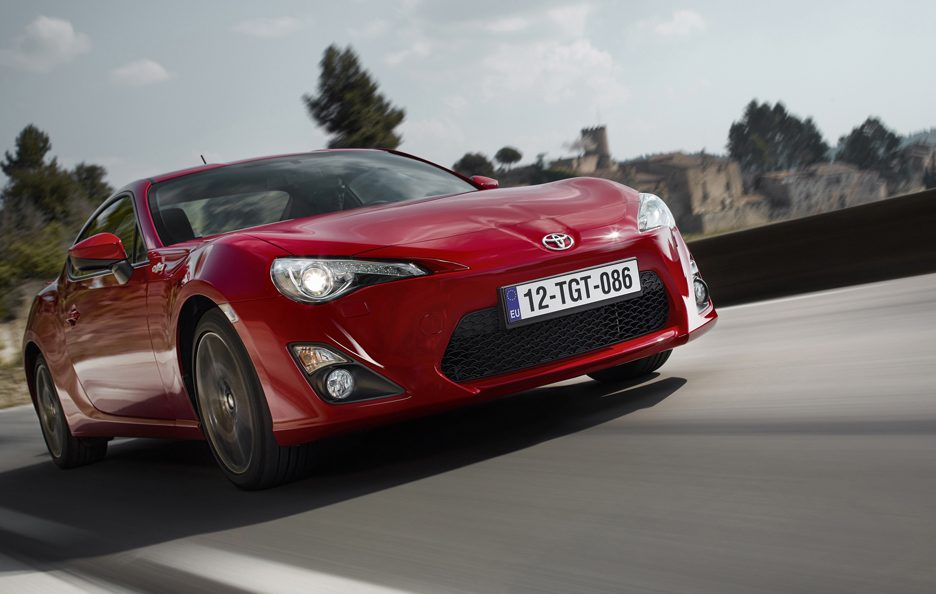 Toyota GT86 - Il frontale
