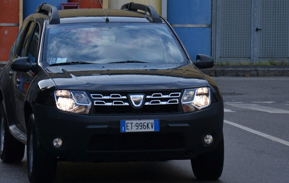 Dacia Duster frontale 2