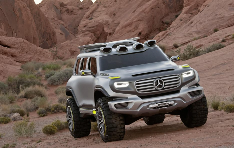 Mercedes Ener-G-Force - Anteriore