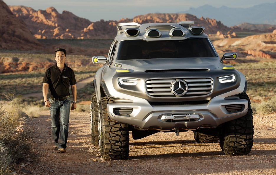 Mercedes Ener-G-Force - Il frontale