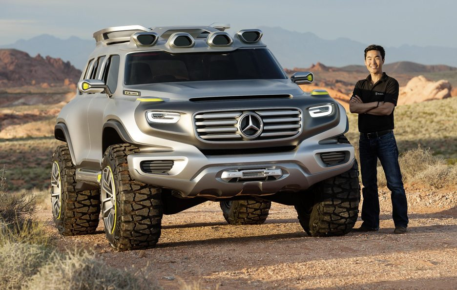 Mercedes Ener-G-Force - Linee anteriore