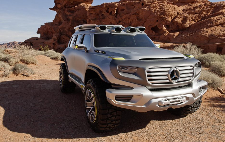 Mercedes Ener-G-Force - Profilo frontale