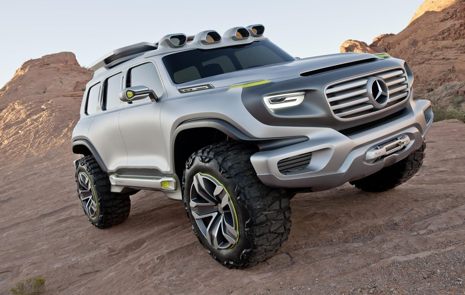 Mercedes Ener-G-Force - Profilo frontale basso