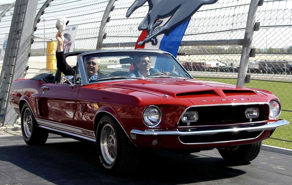 Shelby Mustang GT 500 Convertible