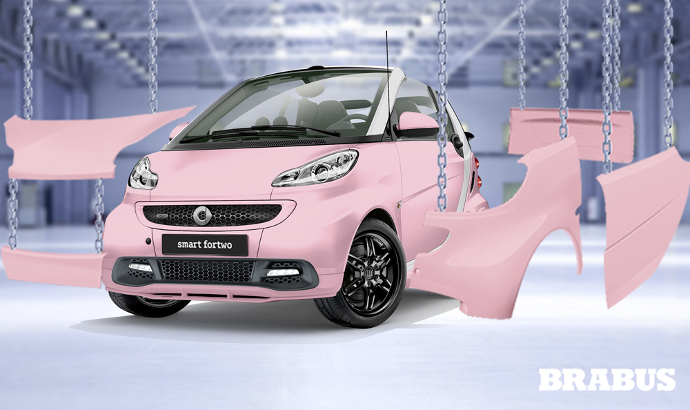 smart fortwo brabus fan edition news panoramauto. Black Bedroom Furniture Sets. Home Design Ideas