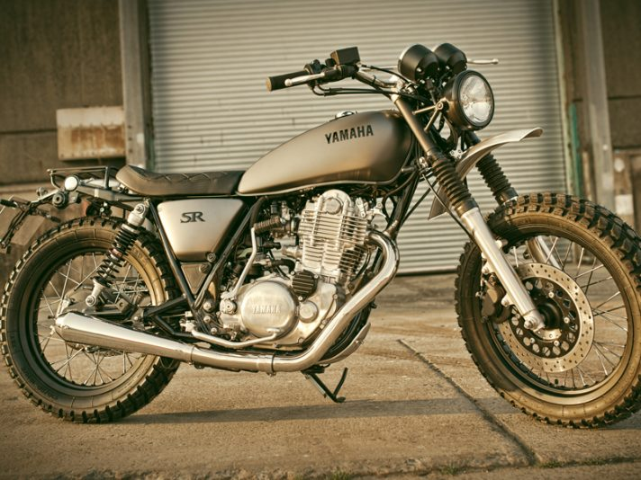 Yamaha Yard Built, due nuove SR400 special al Wheels and Waves 2014