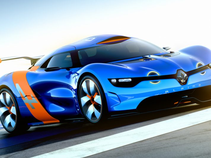 Alpine A110-50 - Frontale