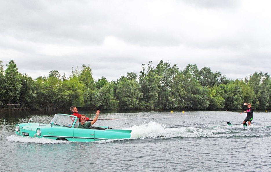 Amphicar in acqua