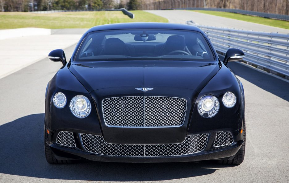 Bentley Continental GT Le Mans Edition frontale