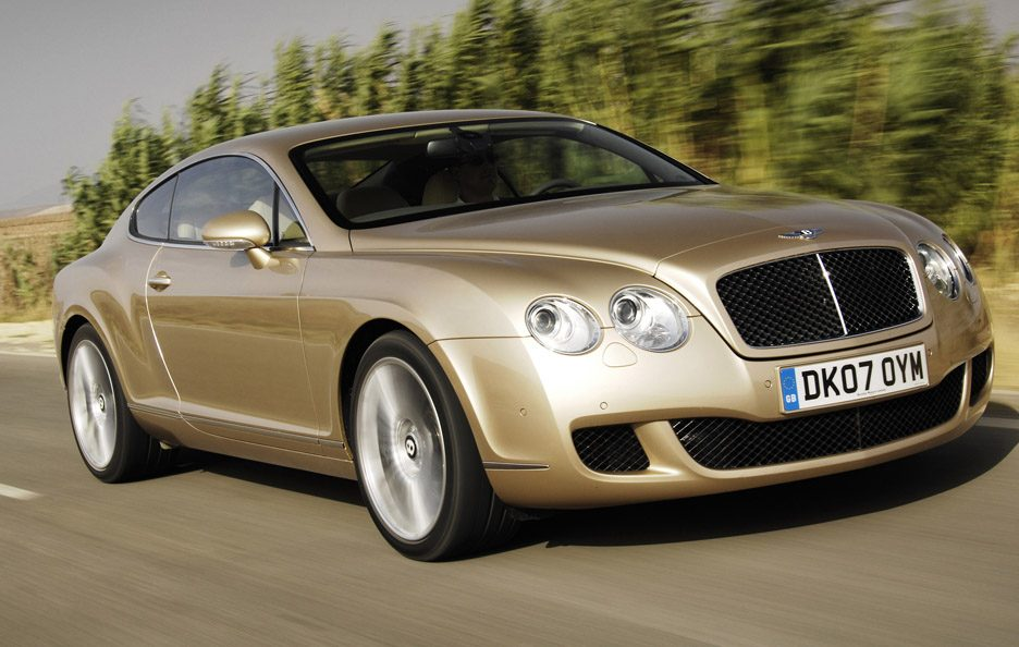 Bentley Continental GT Speed prima generazione