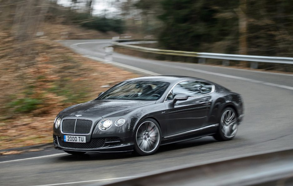 Bentley Continental GT Speed seconda generazione