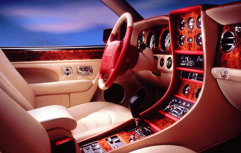 Bentley Continental R interni