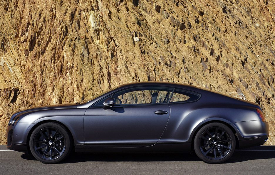 Bentley Continental Supersports profilo