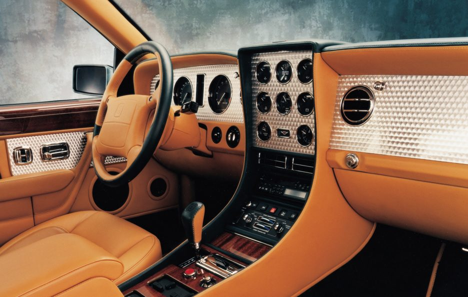 Bentley Continental T interni
