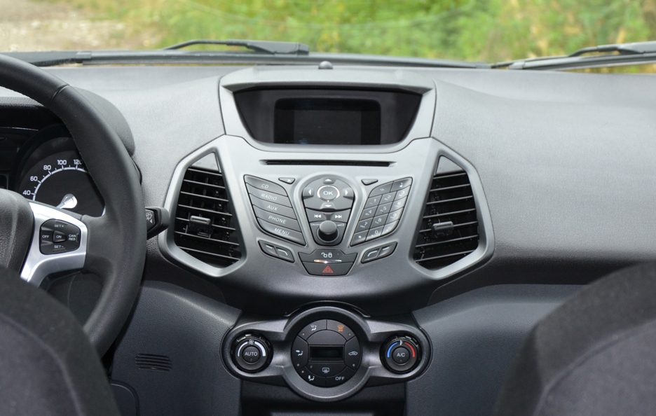 Ford Ecosport consolle centrale