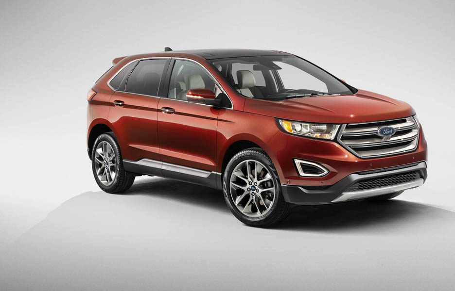 ford edge arriva in europa news panoramauto. Black Bedroom Furniture Sets. Home Design Ideas