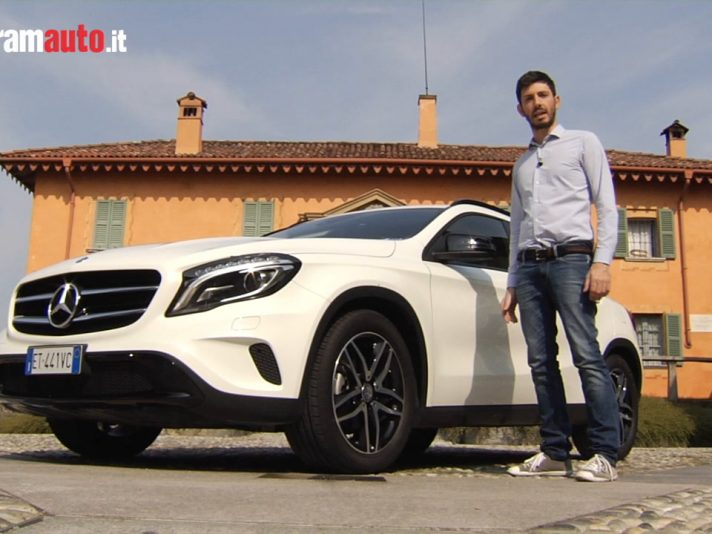 Video prova su strada della Mercedes GLA 200 CDI