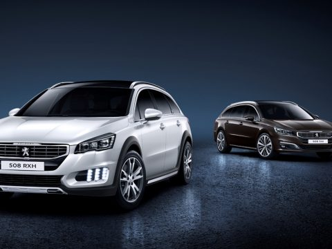 Peugeot 508 RXH e SW restyling