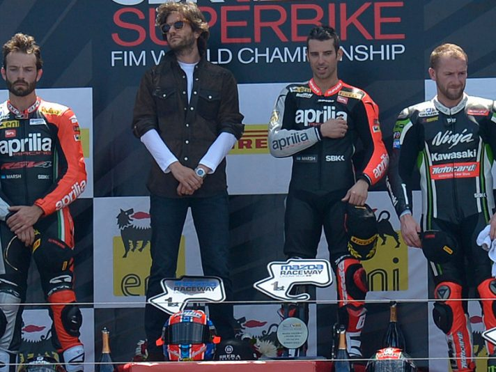Superbike 2014, Laguna Seca: risultati e classifica piloti