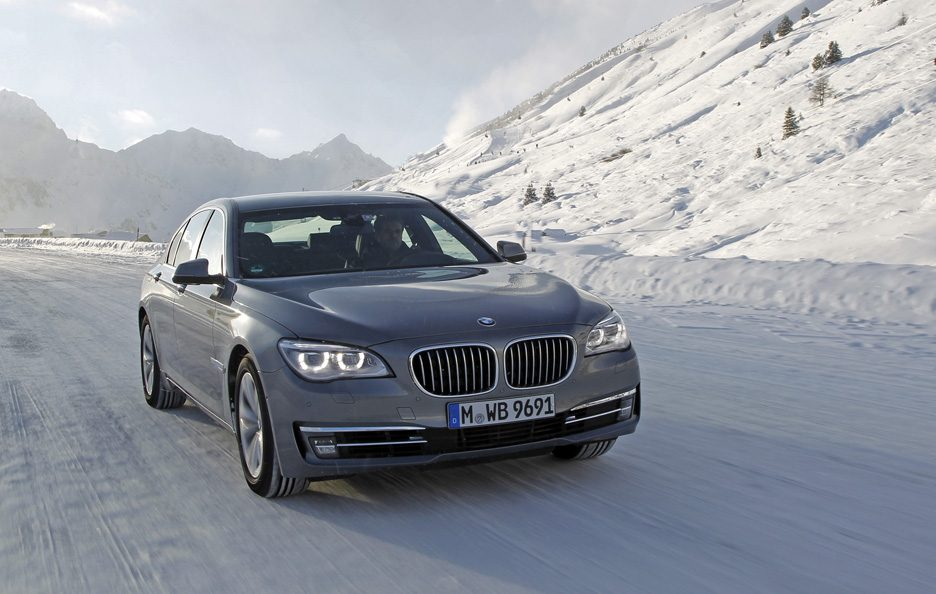2012 - BMW serie 7 F01 restyling