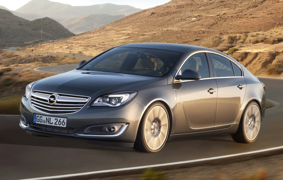 2013 - Opel Insignia restyling