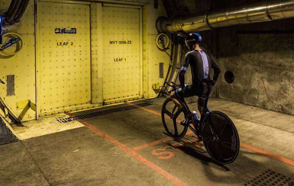 Chris Froome Eurotunnel 2014